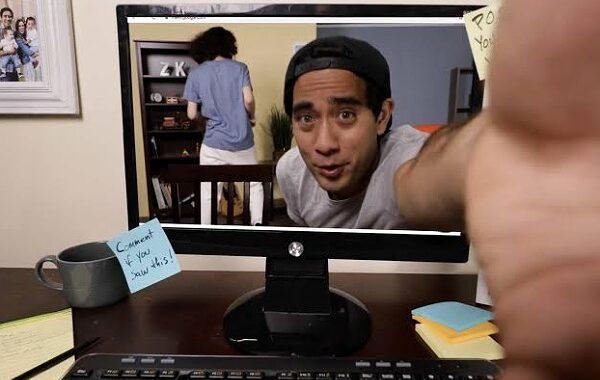بالفيديو ..شاب أميركي يبدع بالخدع البصرية ويشارك متابعيه كواليس تصويرها