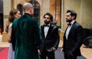 محمد صلاح يلتقى مع الأمير ويليام وزوجته في حفل جائزة إيرث شوت