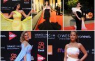 بالصور .. شاهد أجمل إطلالات نجوم الفن في حفل إفتتاح مهرجان الجونة السينمائي 2021